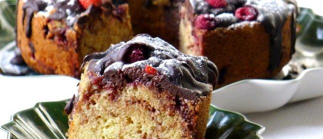 Кекс с ягодами рецепт с фото пошагово