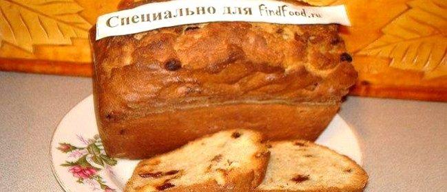 Кекс с изюмом рецепт с пошагово простой рецепт в духовке
