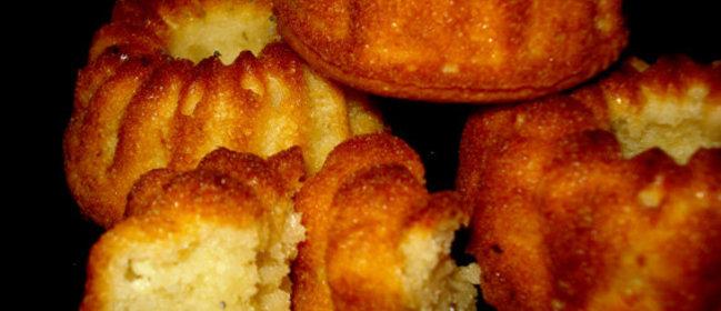 Воздушные творожные кексы рецепт с фото
