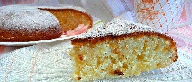 Кекс рецепт на кефире простой в домашних условиях в духовке