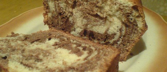 Мраморный кекс рецепт с фото пошагово