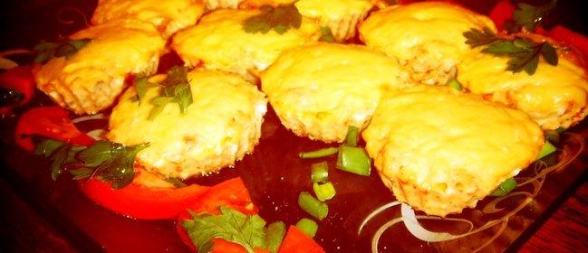 Куриные маффины пошаговый рецепт с фото